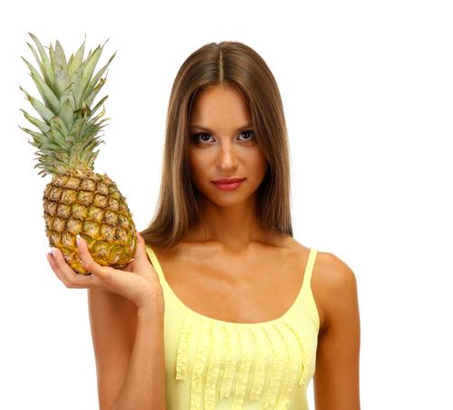 パイナップル 栄養 成分 肌 美容