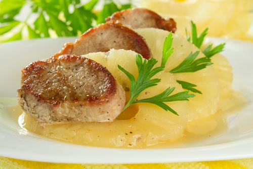 豚肉 パイナップル 血栓