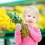 幼児期にパイナップルを与えるのは何時からが良いか?