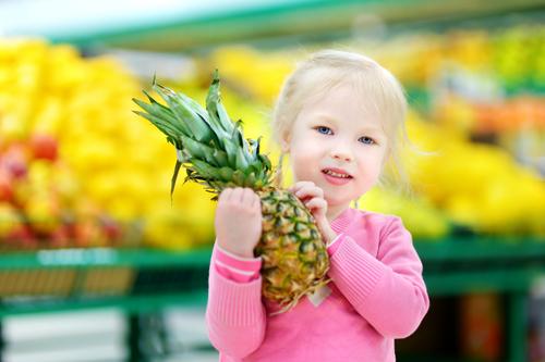 幼児 パイナップル いつから