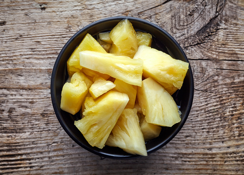 パイナップル アレルギー 唇 舌 咳 肌