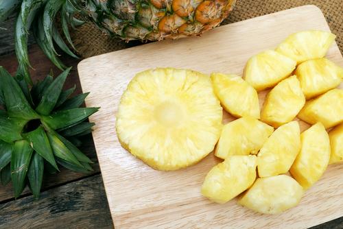 パイナップル 香り におい 酸味 成分