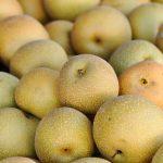 梨の皮や真ん中の果肉が黒いのですが食べれますか?