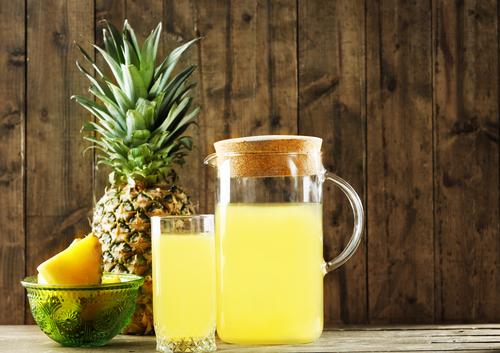 パイナップル ジュース 缶詰 酵素 効能
