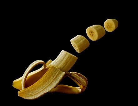 バナナ 冷凍 解凍