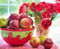 りんご 赤 青 違い 栄養