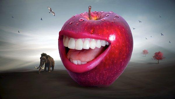 りんご           酸化       化学式