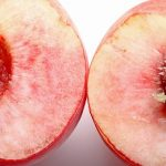 アメリカ人の桃の食べ方
